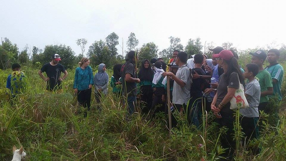 Students Reforestation FNPF Kalimantan
