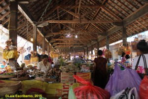 A traditional market in Pejeng.