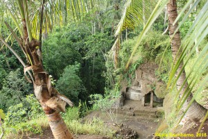 An abandoned ancient dwelling at Pejeng village.