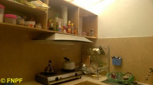 Our simple kitchen.