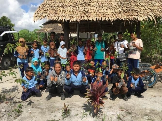 jerumbun conservation education program amici della fondazione