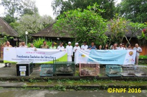 Group Photo With BKSDA, Bali Zoo, and Local Communities.