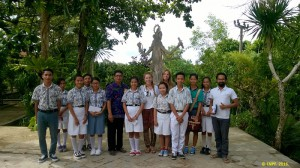 Our staff, volunteers, and students from Tanglad high school.