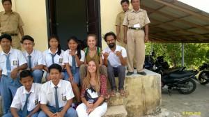 Ten scholarships were dilievered to Klumpu highschool.